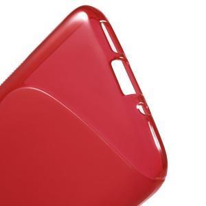 S-line gelový obal na mobil LG G5 - červený - 3