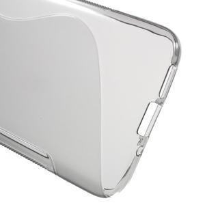 S-line gelový obal na mobil LG G5 - šedý - 3