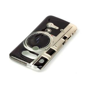 Gelový obal na mobil LG G5 - retro foťák - 3