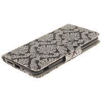 Obrázkové koženkové pouzdro na LG G5 - retro tapeta - 3/7