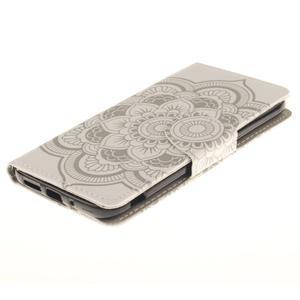 Obrázkové koženkové pouzdro na LG G5 - mandala - 3
