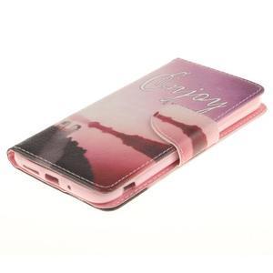 Obrázkové koženkové pouzdro na LG G5 - enjoy - 3