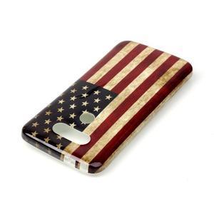 Gelový obal na mobil LG G5 - US vlajka - 3