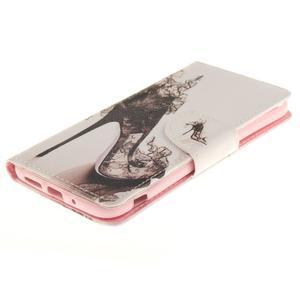 Obrázkové koženkové pouzdro na LG G5 - pekelný střevíc - 3