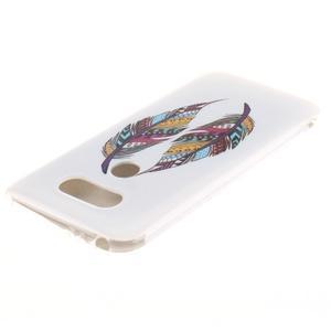 Softy gelový obal na mobil LG G5 - peříčka - 3