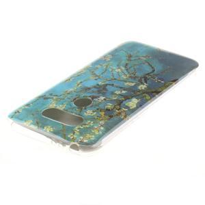 Softy gelový obal na mobil LG G5 - kvetoucí strom - 3