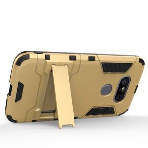 Odolný kryt na mobil LG G5 - stříbrný - 3