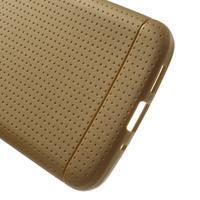 Rubby gelový kryt na LG G5 - hnědý - 3/5