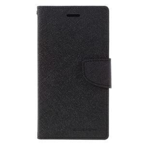 Goos stylové PU kožené pouzdro na LG G5 - černé - 3