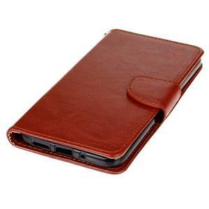 Lees peněženkové pouzdro na LG G5 - hnědé - 3
