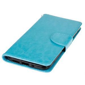 Lees peněženkové pouzdro na LG G5 - modré - 3
