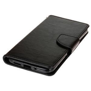 Lees peněženkové pouzdro na LG G5 - černé - 3