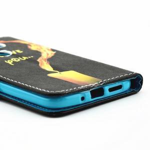 Pouzdro na mobil LG G5 - ohnivá láska - 3