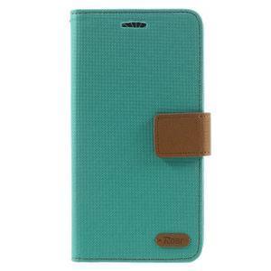 Diary PU kožené pouzdro na mobil LG G5 - zelené - 3