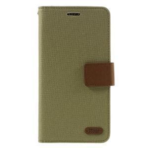 Diary PU kožené pouzdro na mobil LG G5 - khaki - 3
