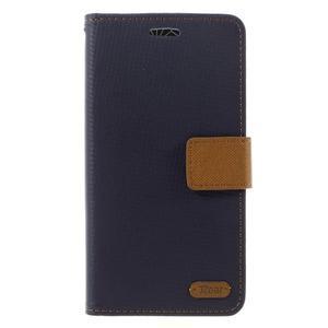 Diary PU kožené pouzdro na mobil LG G5 - černé - 3