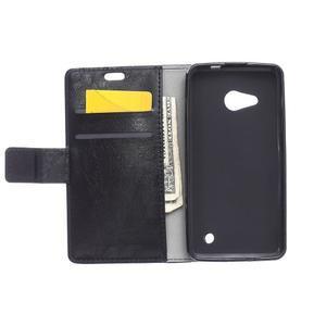 GX koženkové pouzdro na mobil Microsoft Lumia 550 - černé - 3