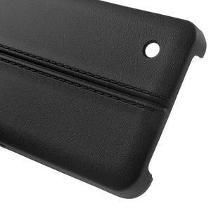 Lines gelový kryt se švy na Microsoft Lumia 550 - černý - 3