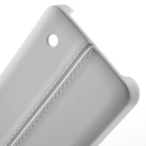 Lines gelový kryt se švy na Microsoft Lumia 550 - bílý - 3