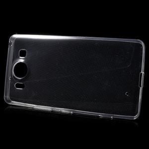 Ultratenký gelový obal na Microsoft Lumia 950 - transparentní - 3