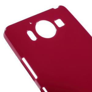 Jelly gelový obal na Microsoft Lumia 950 - červený - 3