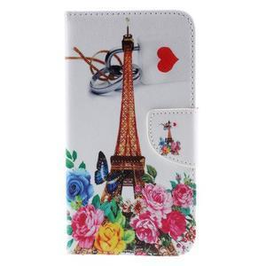 Peněženkové pouzdro na Microsoft Lumia 950 - Eiffelova věž - 3