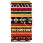 Peněženkové pouzdro na Microsoft Lumia 950 - tribal - 3/7