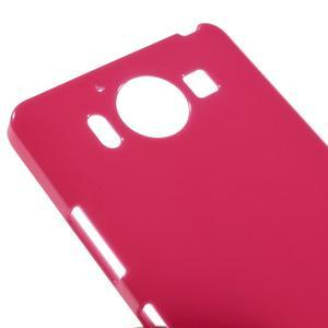 Jelly gelový obal na Microsoft Lumia 950 - rose - 3