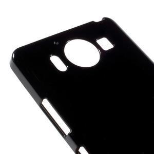 Jelly gelový obal na Microsoft Lumia 950 - černý - 3