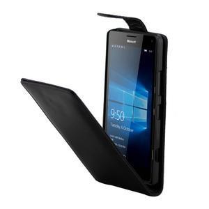 Flipové pouzdro na mobil Microsoft Lumia 950 - černé - 3