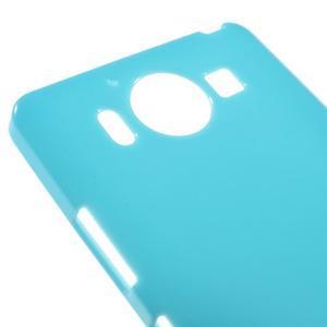 Jelly gelový obal na Microsoft Lumia 950 - modrý - 3
