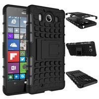 Outdoor odolný kryt na mobil Microsoft Lumia 950 - černý - 3/3
