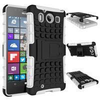 Outdoor odolný kryt na mobil Microsoft Lumia 950 - bílý - 3/3