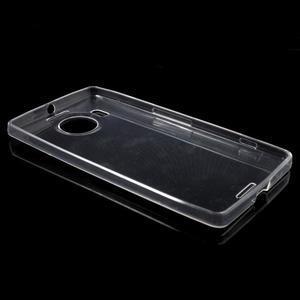 Ultratenký gelový obal na Microsoft Lumia 950 XL - transparentní - 3