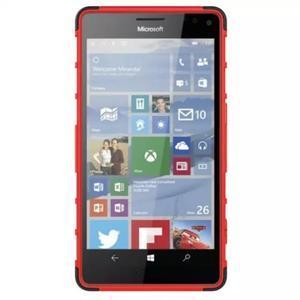 Odolný outdoor obal na mobil Microsoft Lumia 950 XL - červený - 3