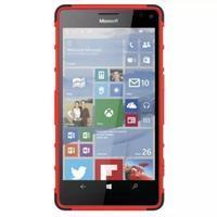 Odolný outdoor obal na mobil Microsoft Lumia 950 XL - červený - 3/7