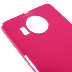 Jelly lesklý gelový obal na mobil Microsoft Lumia 950 XL - rose - 3