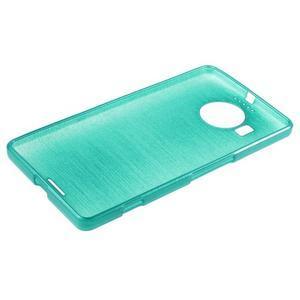 Brushed gelový obal na mobil Microsoft Lumia 950 XL - modrý - 3