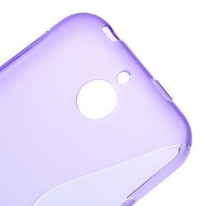 S-line gelový obal na mobil HTC Desire 510 - fialový - 3