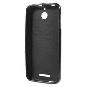Jelly lesklý gelový obal na HTC Desire 510 - černý - 3