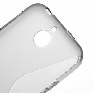 S-line gelový obal na mobil HTC Desire 510 - šedý - 3