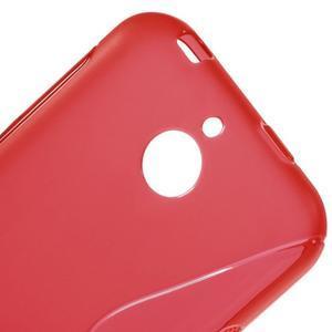 S-line gelový obal na mobil HTC Desire 510 - červený - 3