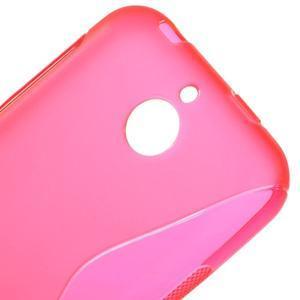 S-line gelový obal na mobil HTC Desire 510 - rose - 3