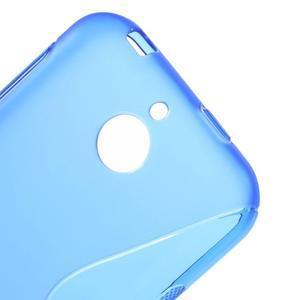S-line gelový obal na mobil HTC Desire 510 - modrý - 3