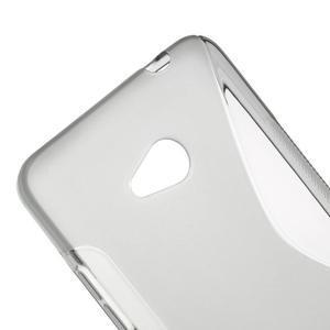 Gelový s-line obal na Microsoft Lumia 640 - šedý - 3