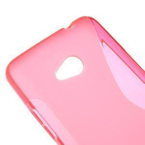 Gelový s-line obal na Microsoft Lumia 640 - rose - 3