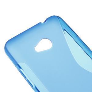 Gelový s-line obal na Microsoft Lumia 640 - modrý - 3