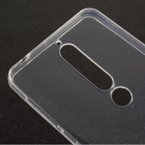 Transparentní gelový obal na Nokia 6.1 - 3