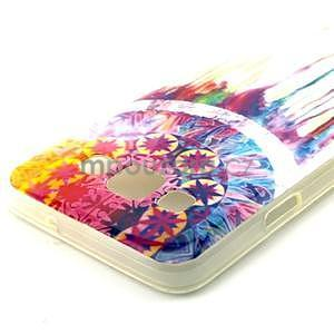 Gelový obal na Samsung Galaxy A3 - stékající barvy - 3