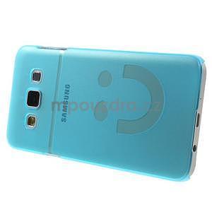 Plastový obal na Samsung Galaxy A3 - modrý - 3